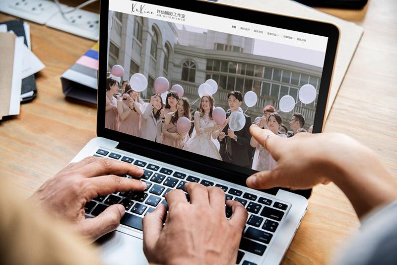 攝影師網站設計